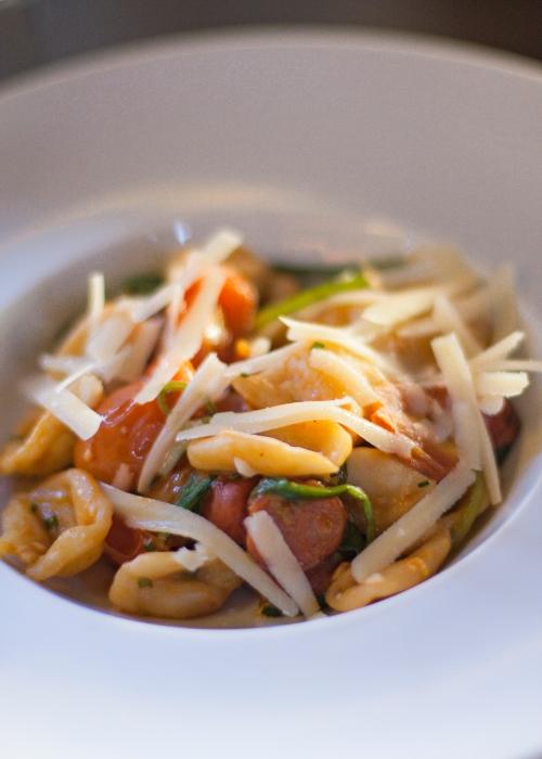 PaneOlio - Orecchiette salsiccia e rucola
